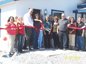 Deming First Time Home Buyers Ribbon Cutting